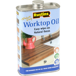 Rustins Rustins Worktop Oil 500ml - 53648 - from Toolstation