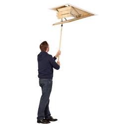 TB Davies EuroFold Timber Loft Ladder