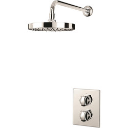 Triton Showers Triton Valona Thermostatic Dual Control Mixer Shower  - 53733 - from Toolstation
