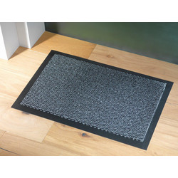 Blue Diamond Dayton Entrance Mat 0.9m x 0.6m- Anthracite - 53751 - from Toolstation