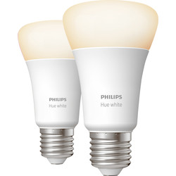 Philips Hue Philips Hue White Bluetooth Lamp E27/ES - 53845 - from Toolstation