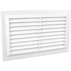 "Louvre Vent Flyscreen 9"" x 6"" - 53900 - from Toolstation"