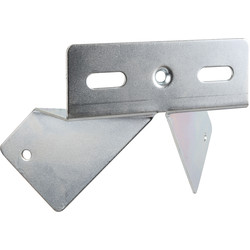 Floodlight Bracket 10W LED Or 500W Halogen Corner - 53941 - from Toolstation