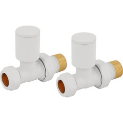 Reina Portland White Valve Straight - 54061 - from Toolstation