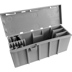 Wago WAGOBOX 221-4 Junction Box 108 x 39 x 44mm - 54159 - from Toolstation