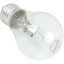Sylvania Sylvania Energy Saving Halogen GLS Lamp 42W ES (E27) 625lm - 54184 - from Toolstation