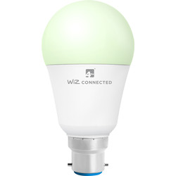 4lite WiZ 4lite WiZ LED A60 Smart Bulb RGBWW Wi-Fi / Bluetooth 8W BC 806lm - 54232 - from Toolstation