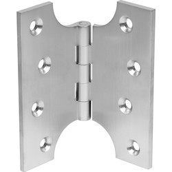 Eclipse Parliament Hinge Satin Chrome - 54302 - from Toolstation