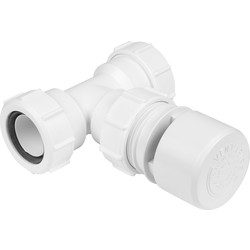 McAlpine McAlpine VP4 Air Admittance Valve White - 54349 - from Toolstation