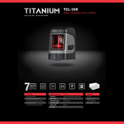 General Titanium TCL-1XR Cross Line Laser