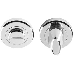 Serozzetta Serozzetta Thumbturn Escutcheon Polished Chrome - 54505 - from Toolstation