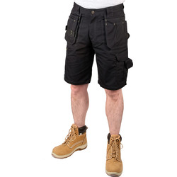 "Stanley Stanley Durham Holster Pocket Shorts 32"" Black - 54520 - from Toolstation"