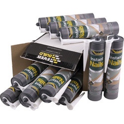 Everbuild Instant Nails Solvent Free Grab Adhesive 310ml - 54567 - from Toolstation