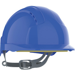 JSP JSP EVOLite® Slip Ratchet Vented Safety Helmet Blue - 54575 - from Toolstation