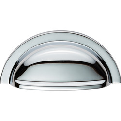 Carlisle Brass Oxford Cup Pull 76mm Polished Chrome - 54579 - from Toolstation