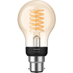 Unbranded Philips Hue LED Filament A60 Lamp B22 - 54619 - from Toolstation