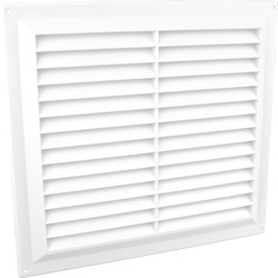 "Louvre Vent Flyscreen 9"" x 9"" - 54697 - from Toolstation"