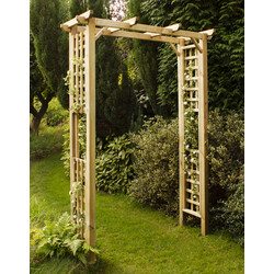Forest Forest Garden Berkeley Arch 213cm (h) x 150cm (w) x 60cm (d) - 54717 - from Toolstation