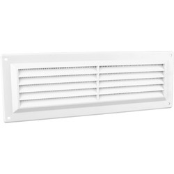 "Louvre Vent Flyscreen 9"" x 3"" - 54834 - from Toolstation"