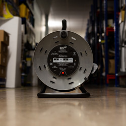 4 Socket 13A Heavy Duty Open Cable Reel