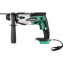 Hikoki Hikoki DH18DSL 18V Li-Ion Cordless SDS Plus Hammer Drill Body Only - 55067 - from Toolstation