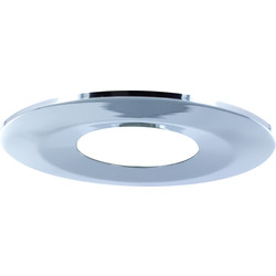 Integral LED Integral LED Integrated Fire Rated IP65 Bezel Bezel Chrome - 55068 - from Toolstation