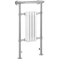 Qual-Rad Traditional Towel Radiator 952 x 479mm 1102 Btu - 55074 - from Toolstation