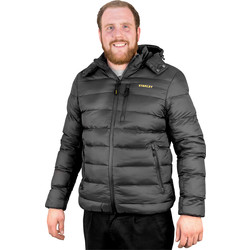 Stanley Stanley Irvine Puffa Jacket X Large Black - 55129 - from Toolstation