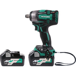 Hikoki Hikoki WR18DBDL2 18V Li-Ion Cordless Brushless Impact Wrench 2 x 5.0Ah - 55136 - from Toolstation