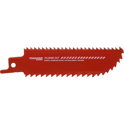 Toolpak Plunge Cutting Sabre Blade 100mm - 55248 - from Toolstation