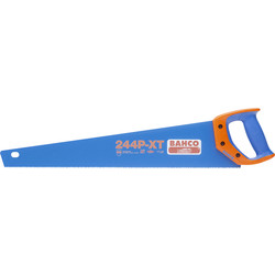 "Bahco Bahco 244 Blue Handsaw 550mm (22"") - 55301 - from Toolstation"