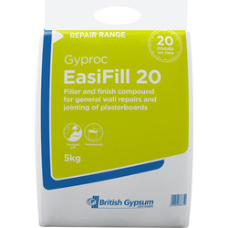 Gyproc Gyproc Easifill 20 Filler 5kg - 55323 - from Toolstation