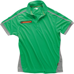 Scruffs Scruffs Pro Active Zip Polo Medium Green - 55432 - from Toolstation