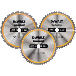 DeWalt DeWalt Construction Circular Saw Blades 305mm - 55466 - from Toolstation