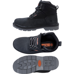 Scruffs Twister Safety Boot Black Size 9