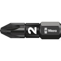 Wera Wera Impaktor Diamond Screwdriver Bit Pz2 x 25mm - 55501 - from Toolstation