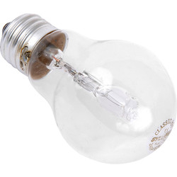 Sylvania Sylvania Energy Saving Halogen GLS Lamp 18W ES (E27) 205lm - 55524 - from Toolstation