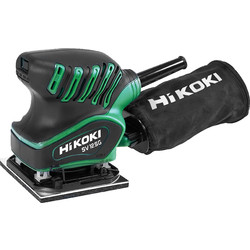 Hikoki Hikoki SV12SG 200W  1/4 Sheet Palm Sander 110V - 55532 - from Toolstation