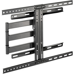 Vivanco Dual Arm Tilt & Swing TV Wall Mount Bracket Large Up To 85""