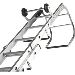 Lyte Ladders Lyte Roof Ladder 2 Section, Open Length 6.64m - 55767 - from Toolstation