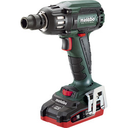 Metabo Metabo SSW 18 LTX 400 BL 18V Li-Ion Brushless Cordless Impact Wrench 2 x 3.5Ah HD - 55798 - from Toolstation