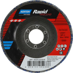 Norton Rapid Strip BLEND 115 x 22mm - 55856 - from Toolstation