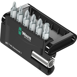 Wera Wera Extra Tough Screwdriver Bit Set Pozi - 55960 - from Toolstation