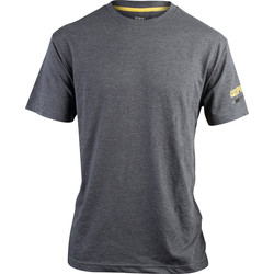 CAT Caterpillar T-Shirt XX Large Grey - 56017 - from Toolstation