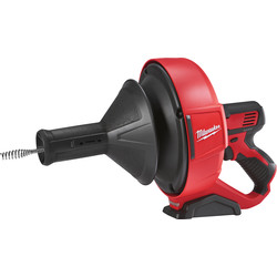 Milwaukee M12BDC8-0C 12V Li-Ion Cordless Drain Cleaner Body Only