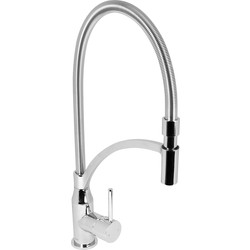 Unbranded Waddesdon Pull Out Mono Mixer Kitchen Tap Chrome - 56086 - from Toolstation