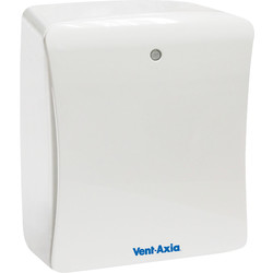 Vent Axia Vent-Axia 100mm Solo Plus Extractor Fan Timer & PIR - 56220 - from Toolstation