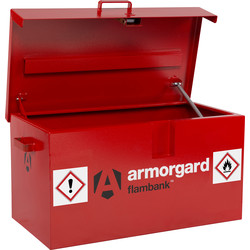 Armorgard Armorgard FlamBank Van Box FB1 980 x 540 x 475mm - 56270 - from Toolstation