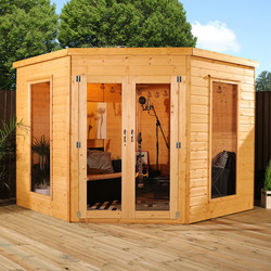 Mercia Mercia Corner Summerhouse 8' x 8' - 56276 - from Toolstation