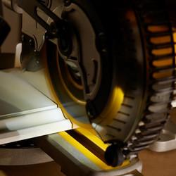 DeWalt DCS365N-XJ 18V XR Cordless 184mm Sliding Compound Mitre Saw